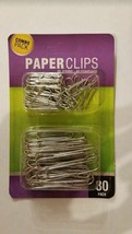 Standard & Jumbo Paper Clips Set - Pack of 80 - $98.01