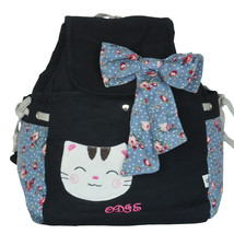 [Endless Love] Fabric Art School Backpack Outdoor Daypack - $22.99