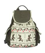 [Happy Trip] Fabric Art School Backpack Outdoor Daypack - $28.99