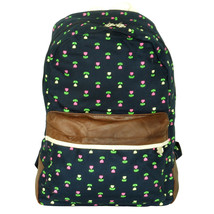 [Pure Love] Fabric Art School Backpack Outdoor Daypack - $28.99