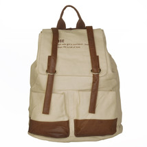[Natural Scenery] Fabric Art School Backpack Outdoor Daypack - $29.89