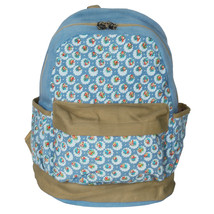 [Unforgetable Day] Fabric Art School Backpack Outdoor Daypack - $29.89