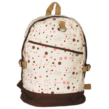 [Happy Painting] Fabric Art School Backpack Outdoor Daypack - $27.99