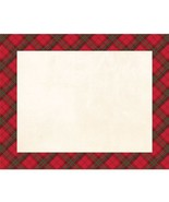 Christmas Red Plaid Placemats 12 Ct  Christmas Place Mat 12 x 15 - $4.39