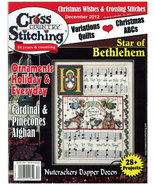 Cross Country Stitching December 2012 magazine issue Jeremiah Junction - $6.00