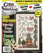 Cross Country Stitching February 2013 magazine issue Jeremiah Junction - $6.00