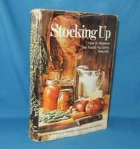 Stocking Up How to Preserving Canning Pickling Drying Foods by Hupping  - $9.95