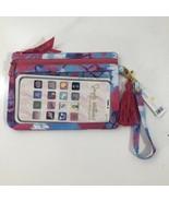 Simply Southern Fall Collection Phone Case Wristlet Wallet Tie Dye Purpl... - $13.93