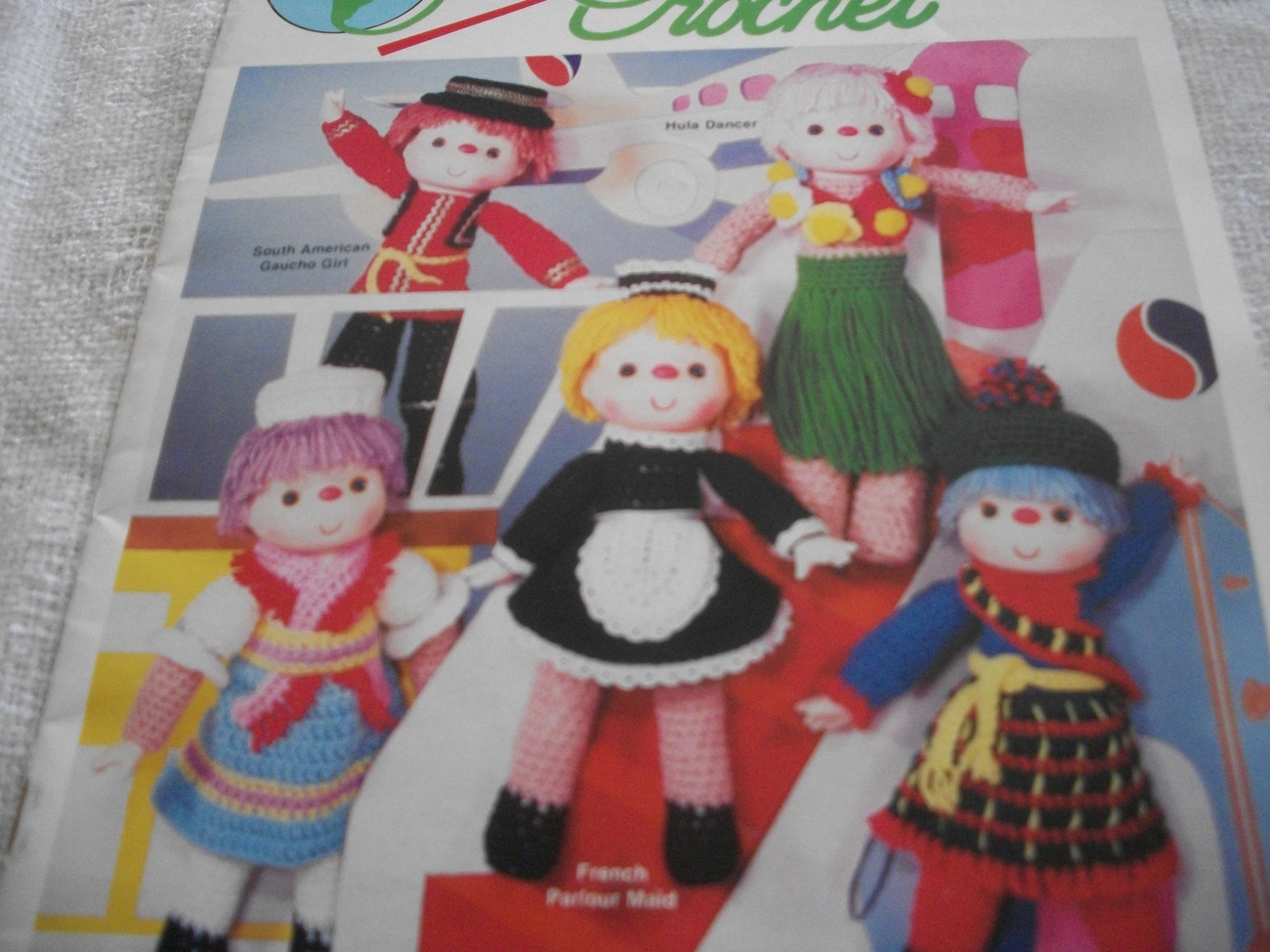 Primary image for Heritage Festival Dolls in Crochet