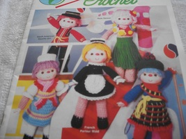 Heritage Festival Dolls in Crochet - $14.00