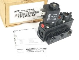 INGERSOLL-RAND A212SS-024-D CONTROL VALVE 1/4'' 24VDC 116 218-39 (FOR PARTS)