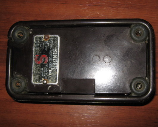 Singer sewing motor controller foot pedal 197629 used for Singer sewing machine motor controller