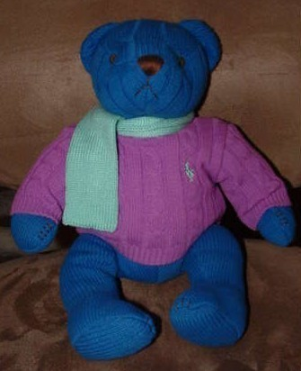 Primary image for RALPH LAUREN 2004 RARE DRESSED BEAR