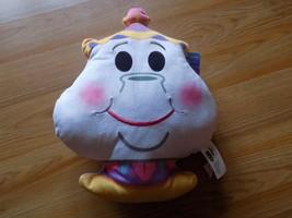 Disney Beauty and the Beast Mrs. Potts Emoji Plush Stuffed Pillow New Ju... - $16.00
