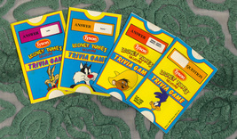 Tyson Meats Promotional Looney Tunes Warner Bros. Trivia Game Cards 1991 - $9.00