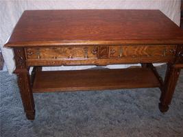 Quartersawn Oak Gothic Desk - $3,200.60
