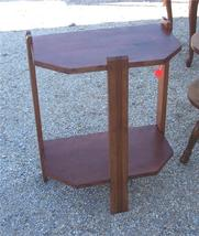 Mahogany 2-Tier Side Table/End Table - $141.93