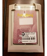 HEYDAY WALLET POCKET CARD HOLDER PHONE ATTACHMENT PINK - $4.79