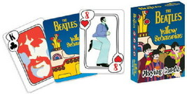 The Beatles Yellow Submarine Movie Photo Playing Cards NEW SEALED - $6.89