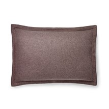 Ralph Lauren Riverport Wool Pillow Sham Case (1) KING Purple Nip $215 - $66.49