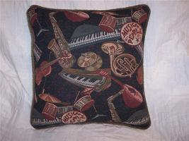 Music People Print Pillow 15 x 16 - $15.42