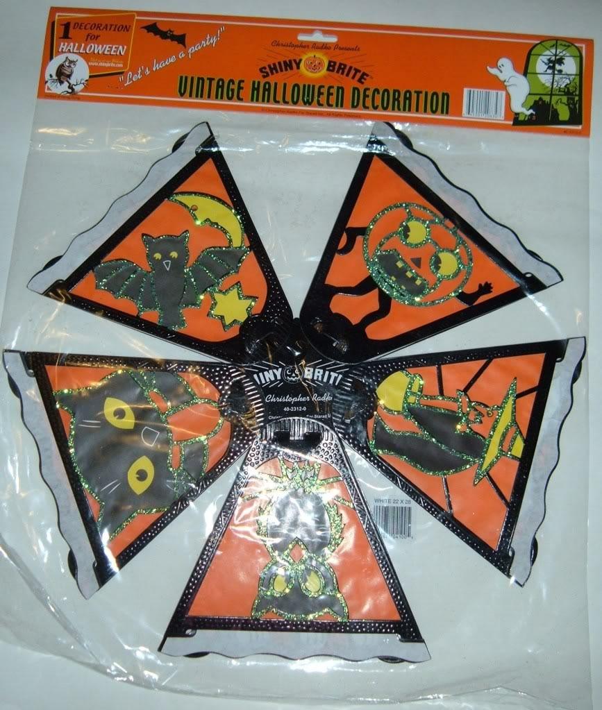 Christopher Radko Shiny Brite PAPER Lantern-New In Package