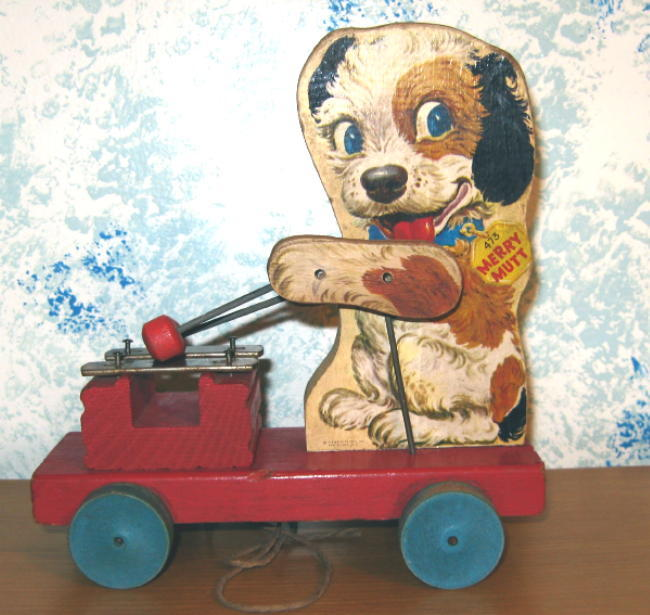 Vintage Fisher Price Merry Mutt