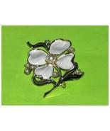 Vintage Dogwood Blossom Brooch Pin - $14.97