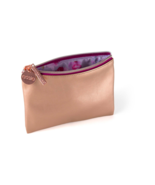 Brand New Maybelline Essie Rose Gold Cosmetic Zip Pouch Bag - $8.90