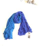 Style & Co. Womens Vintage Cross DYE,  Ombre Wrap,  Ink/ Enamel Blue O/S - $9.85