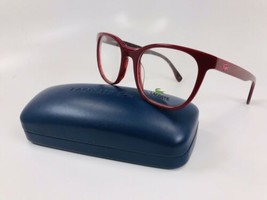 New LACOSTE L2809 615 Red Eyeglasses  50/19/140 with Case & Cloth - $58.41