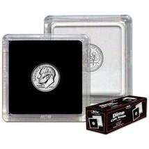 (5) BCW (2 x 2) COIN SNAPS - DIME - BLACK - $5.69
