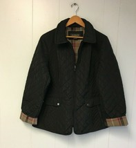 LIZ CLAIBORNE Women's Winter Jacket Black  XL #354 - $59.99