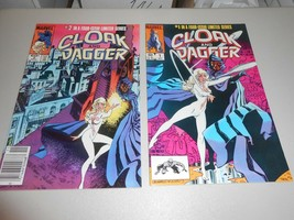 Cloak and Dagger Issues 1 & 2 of a Four Issue Limited Series 1983 Marvel Comics - $7.92
