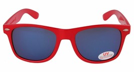Osiris Skateboarding De Las Locs Red/Blue/Chrome adventurer traveler Sunglasses image 2