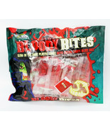 Bloody Bites Glow in the Dark Dracula Vampire Fangs Watermelon Candy Par... - $8.95