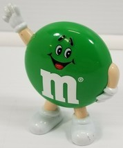 N) Vintage M&M 1991 Mars, Inc. Green Candy Container Dispenser - $7.91