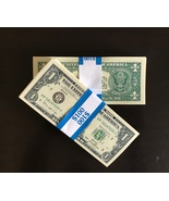 100 PROP MONEY REPLICA 1s All Full Print For Movie Video Films etc. - $22.99