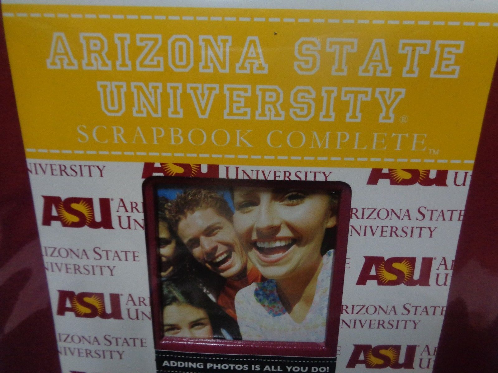 Arizona State University Complete Scrapbook NWT Fast Easy Collegiate Licensed