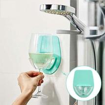 Bathtub Wine Glass Holder Portable Plastic Red Wine Bathroom Kitchen Household image 10