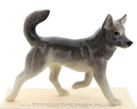 Hagen-Renaker Miniature Ceramic Dog Figurine Alaskan Sled Dog Husky image 2