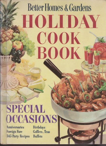 Primary image for Better Homes and Gardens Holiday Cook Book [Hardcover] Meredith Press