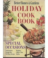 Better Homes and Gardens Holiday Cook Book [Hardcover] Meredith Press - $2.70 CAD