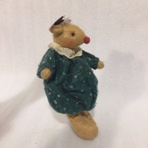 VTG 80S BELTON PRODUCTS FELT MOUSE ORNAMENT 7  inch HIGH - $4.99