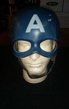 Captain America The First Avenger Helmet Mask Cowl Homemade Replica Cosplay - $367.64