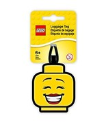 Lego Iconic Girl Face Silicone Luggage Bag Tag for Travel, Gym, School, ... - $4.91
