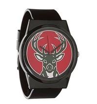 Flud Pantone NBA Black Milwaukee Bucks Watch Basketball Official License