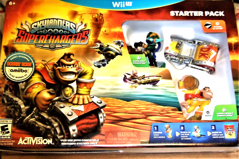 Primary image for Skylanders - Wii Skylander SuperChargers - Guest Starring - Donkey Kong (NEW)