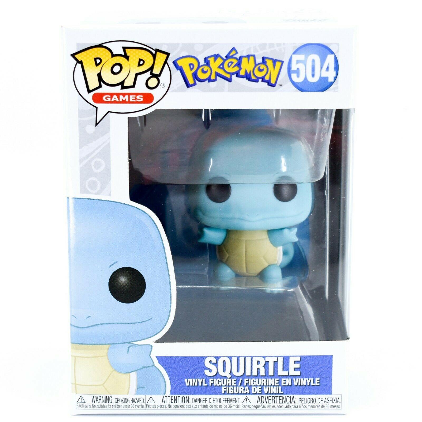 Funko Pop! Games Pokemon Squirtle #504 Vinyl Action Figure
