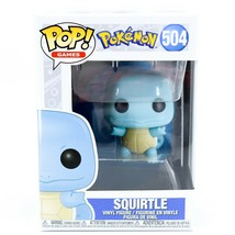 Funko Pop! Games Pokemon Squirtle #504 Vinyl Action Figure